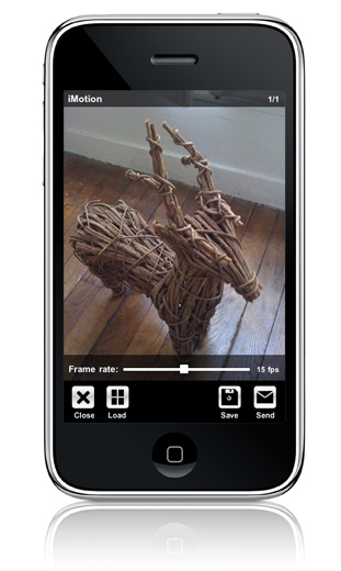 wakey:Imotion Apple iphone application stop motion welcome to imotion